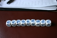 The dice of the A2 group